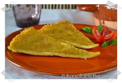 FARINATA DI CECI fragolaelettrica.com Le ricette di Ennio Zaccariello #Ricetta