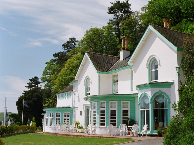 Portmeirion Is Located On A Peninsula Just South Of Porthmadog In North West Wales