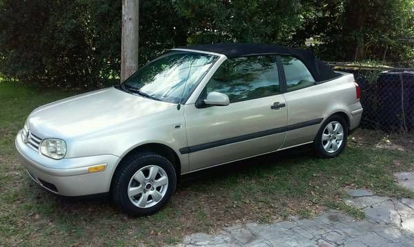 2001 vw cabrio (Jacksonville) $2500: 2001 vw cabrio , 98k, runs good , everything work , any question call me or text me at show contact…
