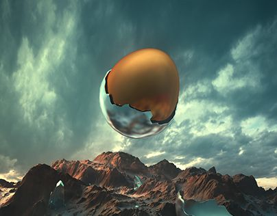 """Check out new work on my @Behance portfolio: """"the EGG"""" http://be.net/gallery/36669813/the-EGG"""