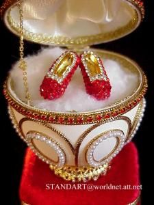 Romanov Faberge Egg  reproduction |Pinned from PinTo for iPad|