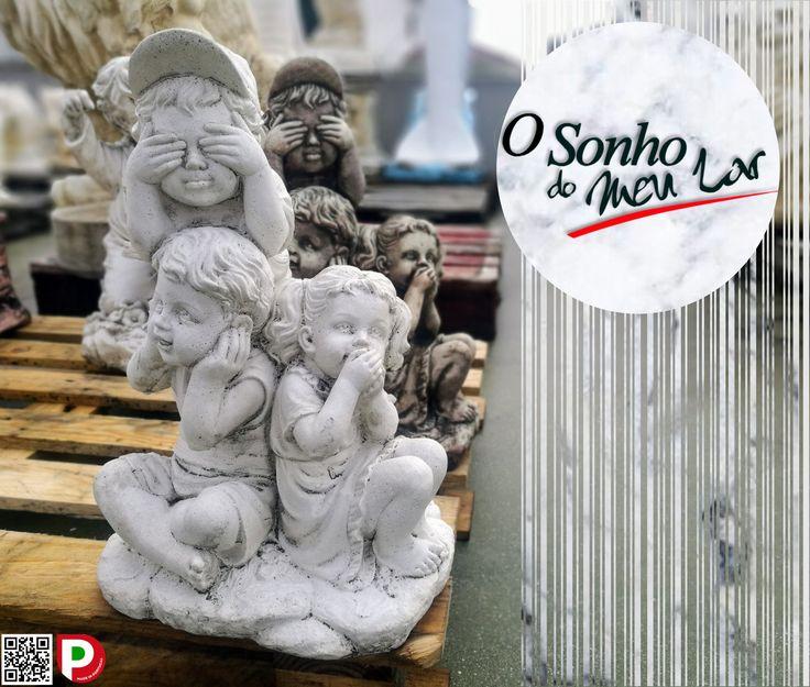 MENINOS DA SORTE (cimento)