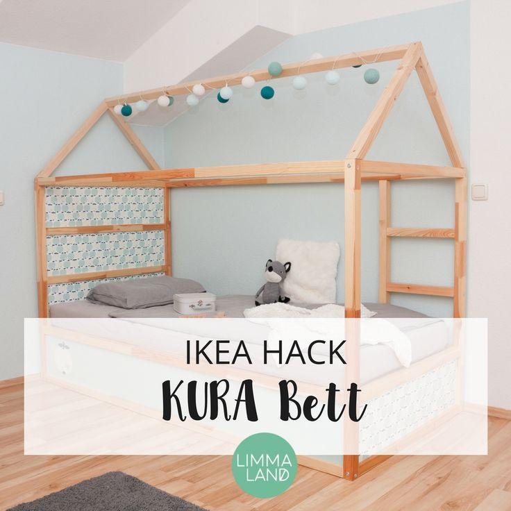 Das Ikea Kura Hochbett Fur Kinder Ist Ein Echtes Multitalent Und Kann Leicht Verandert Und Gepimpt Werden Die Einfachs Kura Bett Kinderbett Ikea Kinder Zimmer