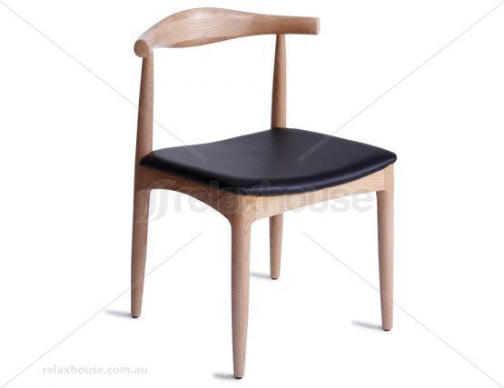 Hans Wegner Elbow Chair Natural Ash