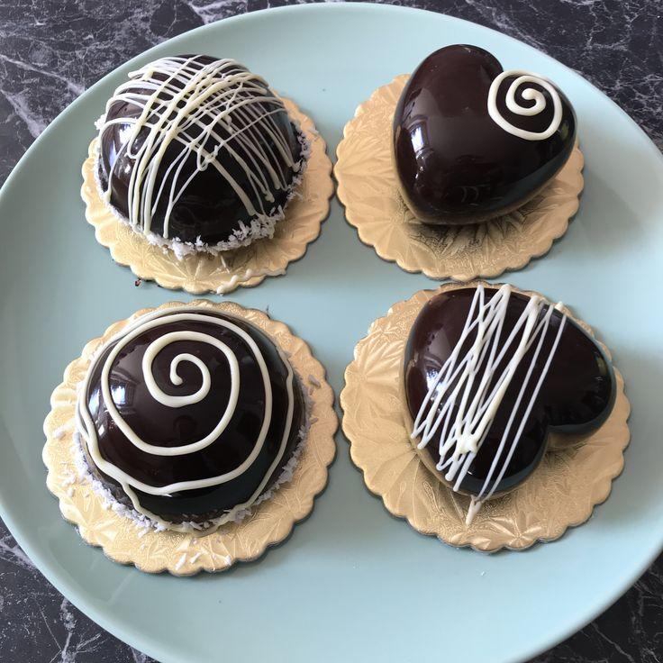 Mirror glaze Törtchen/ delicious/ elegant#mousse dessert