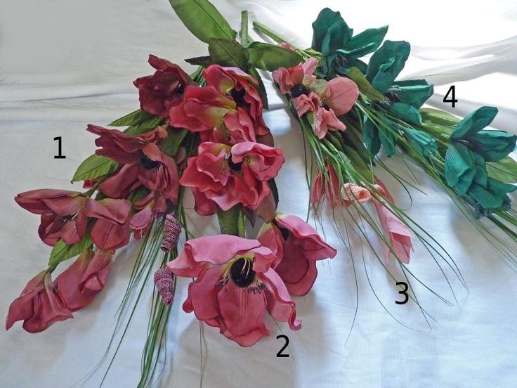 Großer Magnolienstrauß bis ca. 77 cm, 4 Modelle zur Wahl
