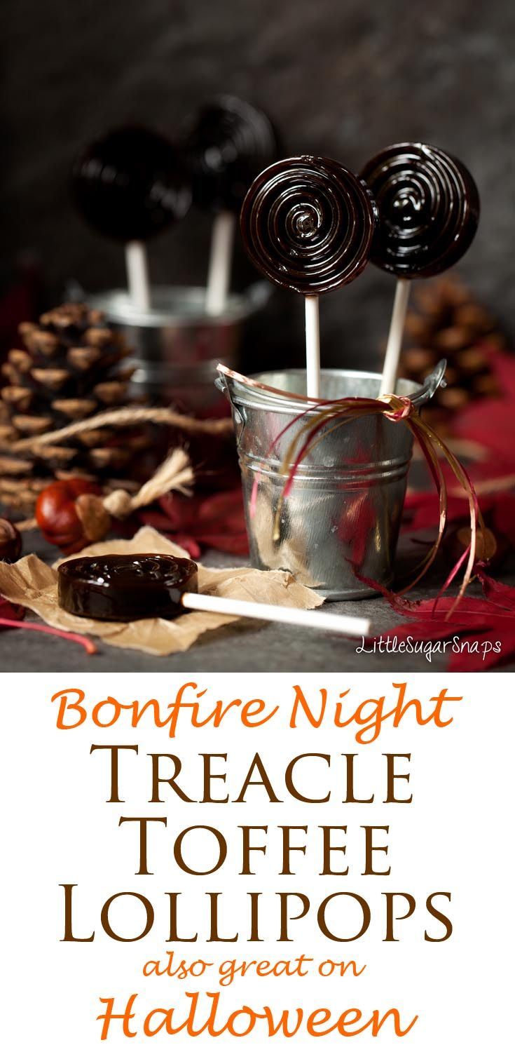 Bonfire Toffee (Treacle Toffee): rich, buttery and deliciously dark, this toffee also makes a great Halloween! ♛BOUTIQUE CHIC♛
