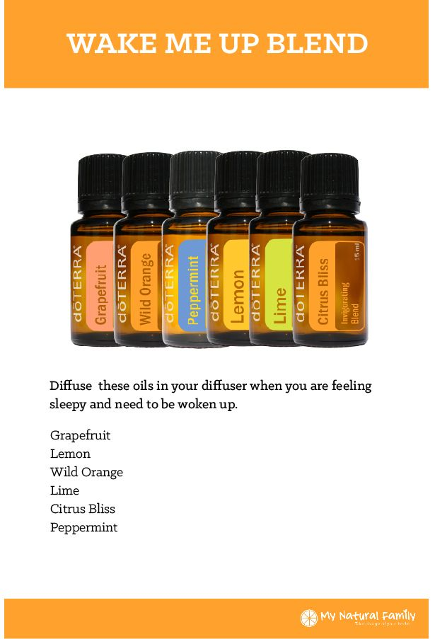 doTERRA Wake Me Up Blend Recipe