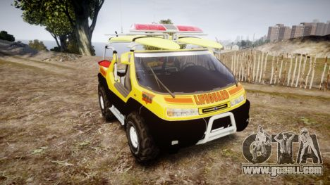 Ford Intruder Lifeguard Beach [ELS] para GTA 4