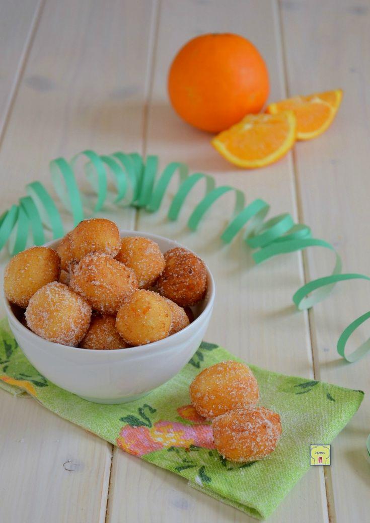 castagnole ricotta e arancia