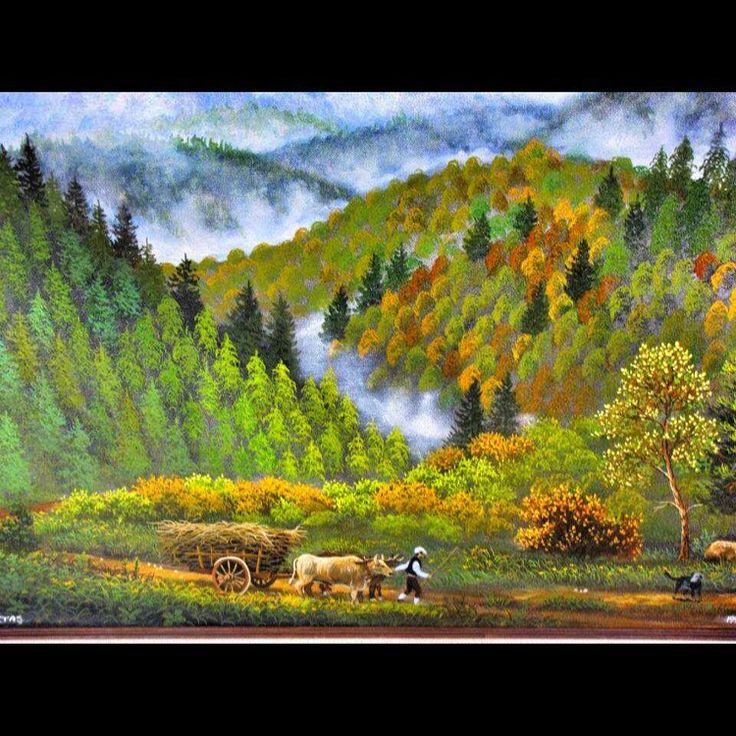 ✨ORMAN (1996-Satıldı) ✨ 70x110 Tuval Üzeri Yağlı Boya.  #resim #tablo #sergi #resimsergisi #ressam #yağlıboya #oilpainting #sanat #ankara #izmir #istanbul #art #artwork #fineart #vscocam ✨Bu Esere Sahip Olmak İçin; Okan Sartaş 05074409494✨ #drawing #canvas #ig_turkey #turkeyinstagram #turkeyartist #artofdrawing #ig_art