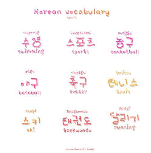 How To Write Grandma In Korean