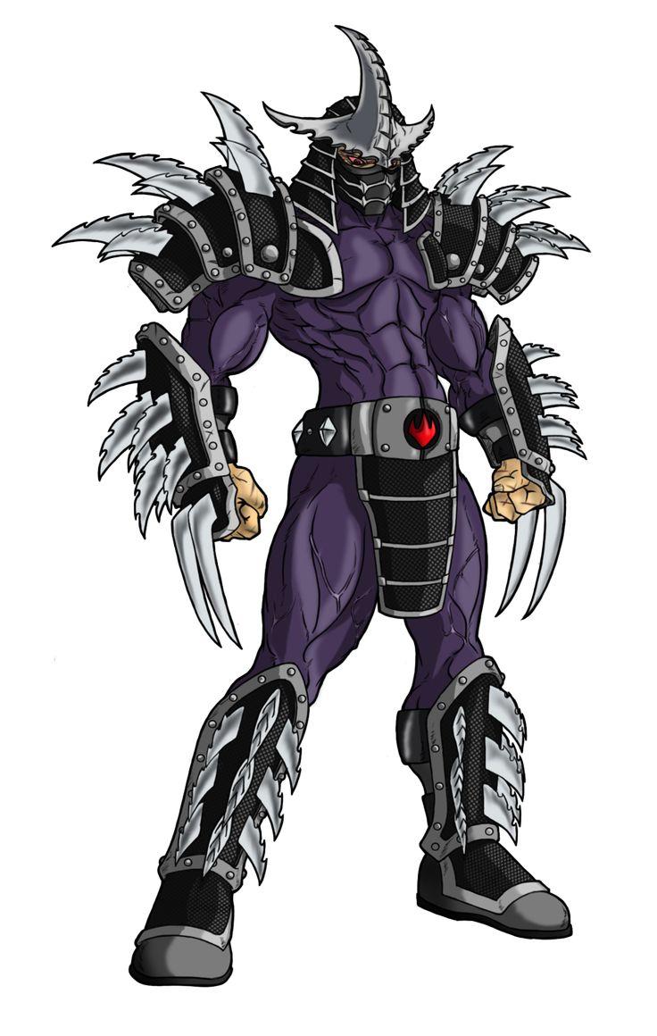 Шредер черепашки ниндзя картинки мутант