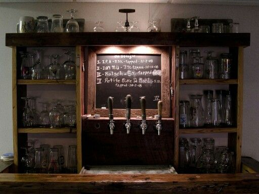 17 best images about basement homebrew on pinterest for How to build a wine bar
