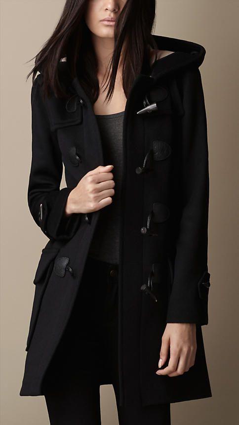 Duffle-coat en laine | Burberry                                                                                                                                                                                 Plus