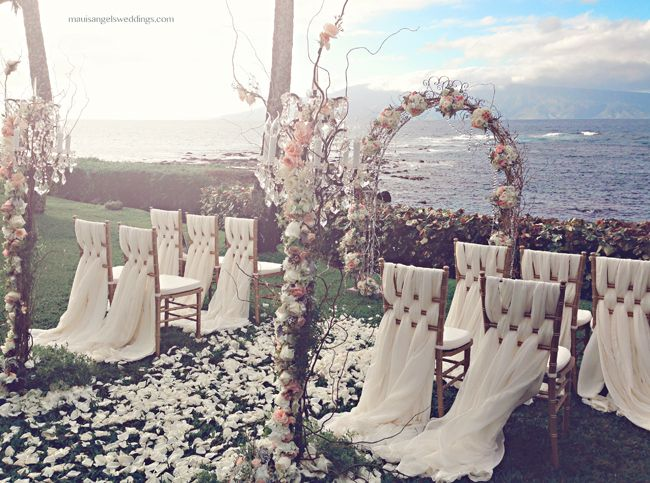 25 best ideas about beach wedding aisles on pinterest for Most romantic wedding venues