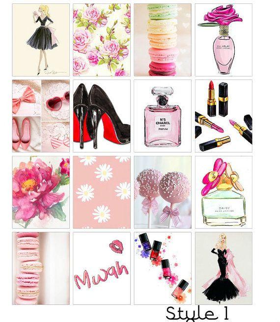 Fashion+Icon+Erin+Condren+Stickers+by+LittleSurpriseShop+on+Etsy
