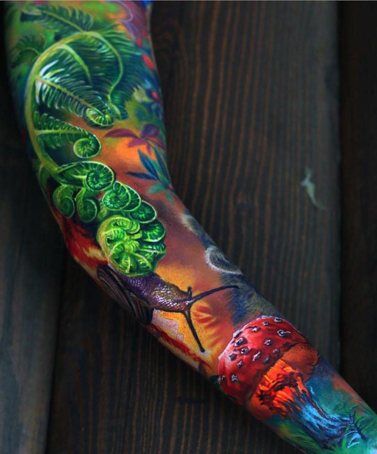 20 Color Sleeve Tattoos: Best 25+ Colorful Sleeve Tattoos Ideas On Pinterest