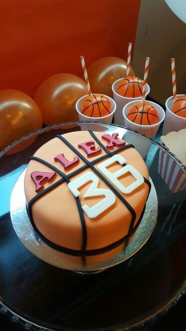 Basketball cake                                                                                                                                                     More