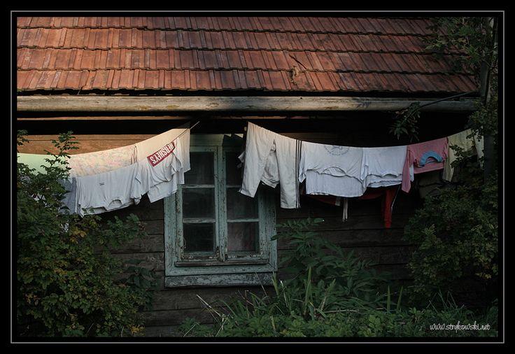 suszące się pranie