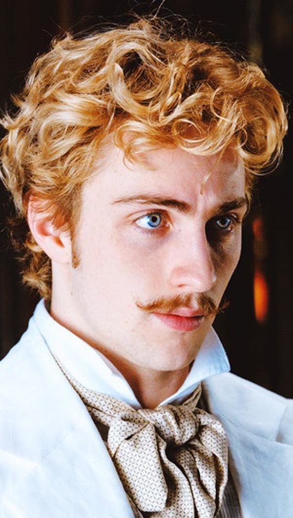 Aaron Taylor-Johnson as Count Vronsky in Anna Karenina