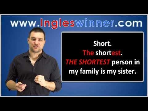 Video aula do curso de inglês do canal ESLWINNER. Hoje vamos aprender a comparar pessoas e coisas
