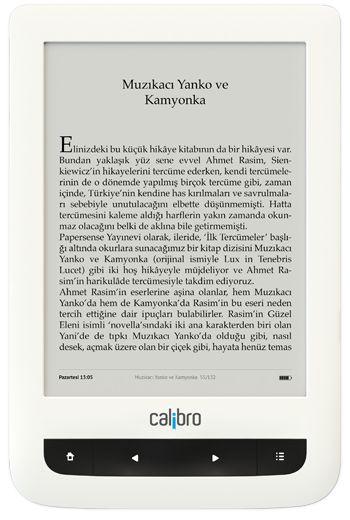 Türkiye'nin e-kitap okuyucusu