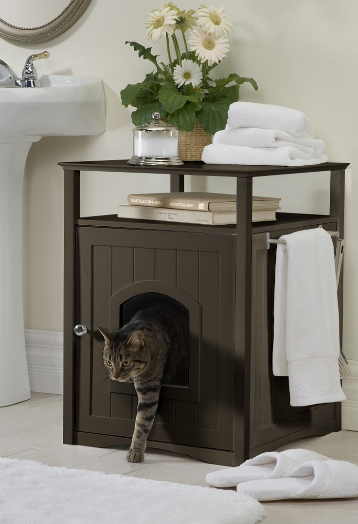 Best 25+ Enclosed litter box ideas on Pinterest | Outdoor cat enclosure Catio and Litter box & Best 25+ Enclosed litter box ideas on Pinterest | Outdoor cat ... Aboutintivar.Com