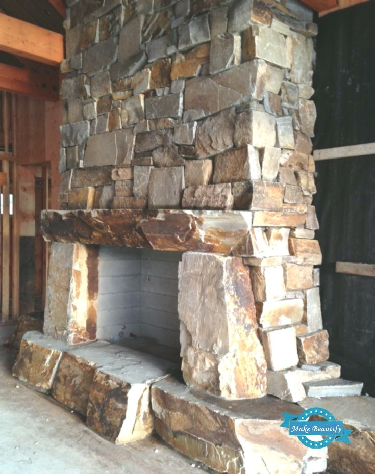 Rustic Stone Fireplace Designs In 2020 Stone Fireplace Designs Rustic Stone Fireplace Rustic Stone