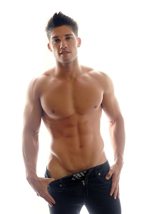 hot latino man