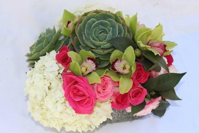 clumpy arrangement