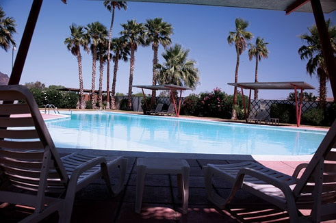 Relax by the pool at Havasu Springs Resort, or play a round of golf on their beautiful 9 hole course!!!