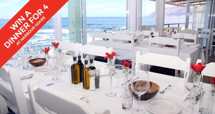 Win dinner for four at Harbour House Restaurant