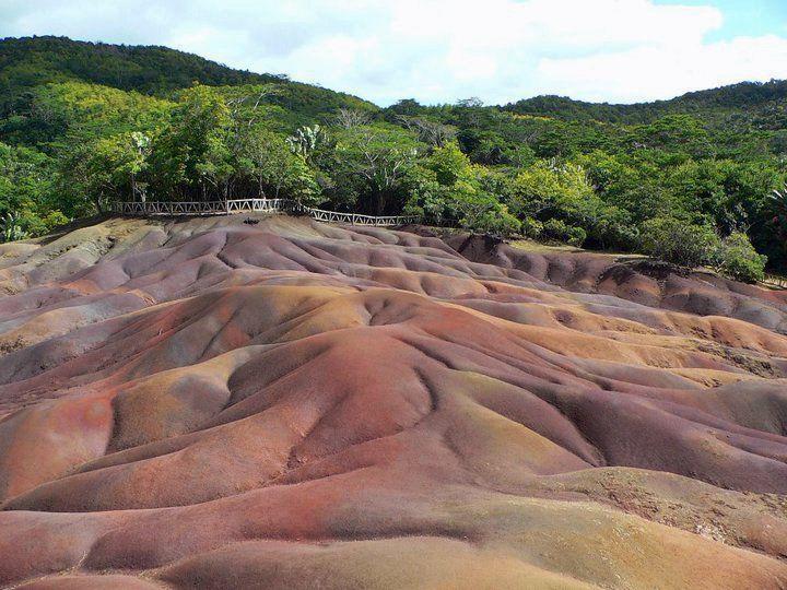 Mauritius, Chamarel - terre dei 7 colori