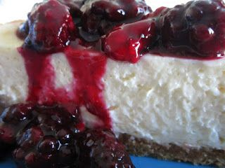 Mary's Busy Kitchen: Dessert Today Is Cheesecake With Berry Topping ...