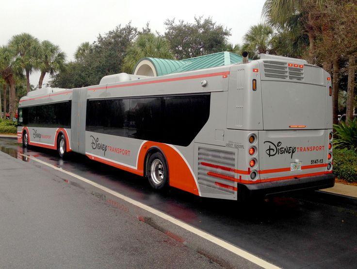 Disney Transport Articulated Bus Bus coach