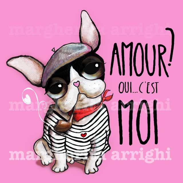 Questo tipetto un po' sornione con le guanciotte da baci ed il nasino a cuore rosa è il mio Bulldog Francese. Colui che non deve chiedere... mai...!