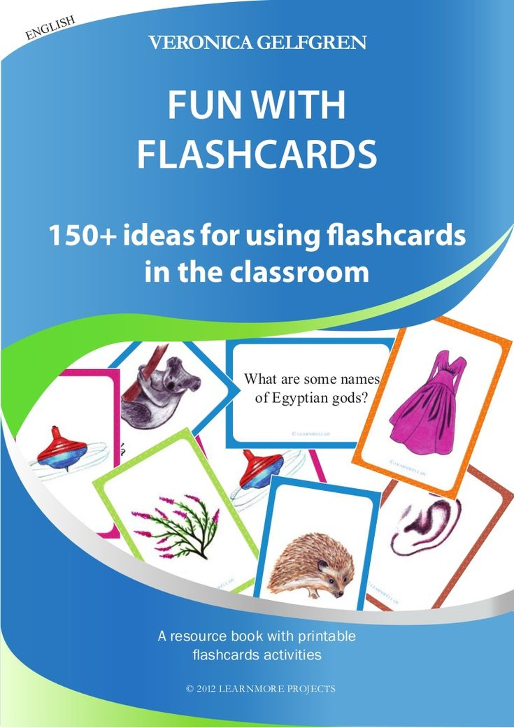fun-with-flash-cards by Veronica Gelfgren via Slideshare