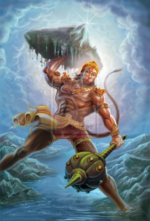 Character Design Hanuman : Hindu god of strength hanuman character design and
