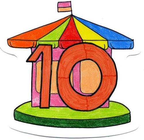 número diez