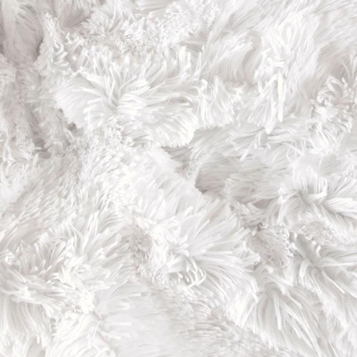 Minky Cuddle Shaggy White Puppet Fur Pinterest Trees