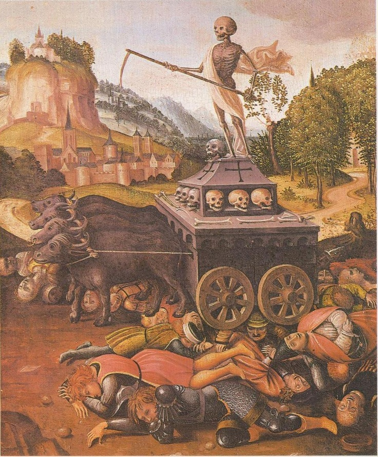 """""""The sudden arrival of the Black Death, while horrific, had effectively """"thinned the human herd,"""" creating an abundance of food and opportunity, which, according to many historians, had been a primary catalyst for bringing about the Renaissance."""" 