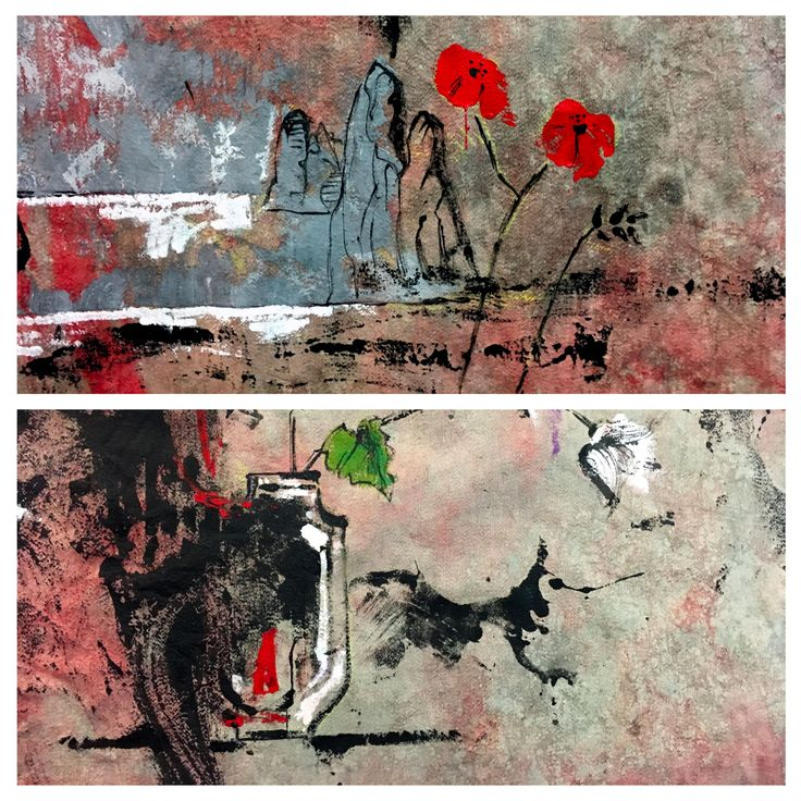 Tapestries, winter, cm 150x150