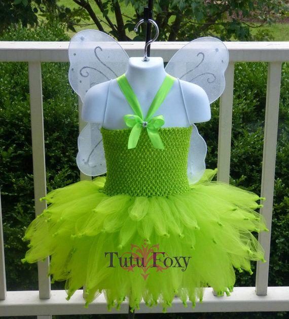 Tinkerbell costume Tinker bell costume Fairy Tutu di TutuFoxy