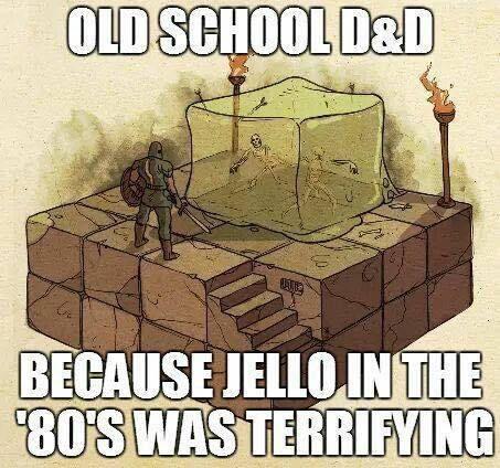d&d meme jello in the 80s was terrifying