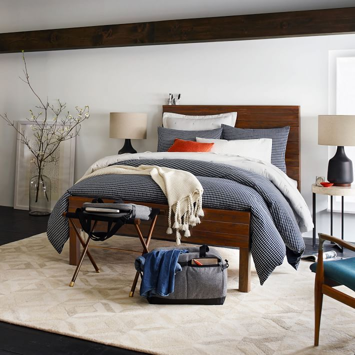 from west elm   Rugged and relaxed  Crafted of solid saal wood  our Stria  Bed s raised relief pattern. 500 best Master Bedroom images on Pinterest   Master bedrooms  At