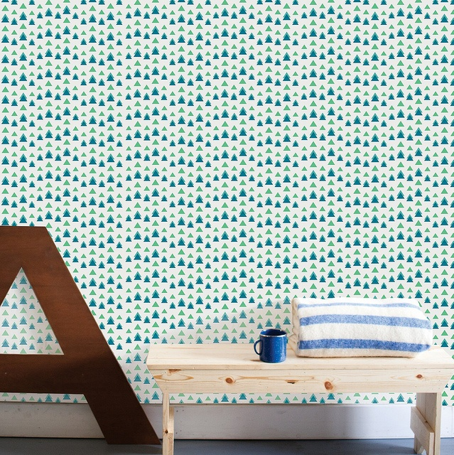 Removable Wallpaper and Decals by The Wall Sticker Company, by decor8, via Flickr