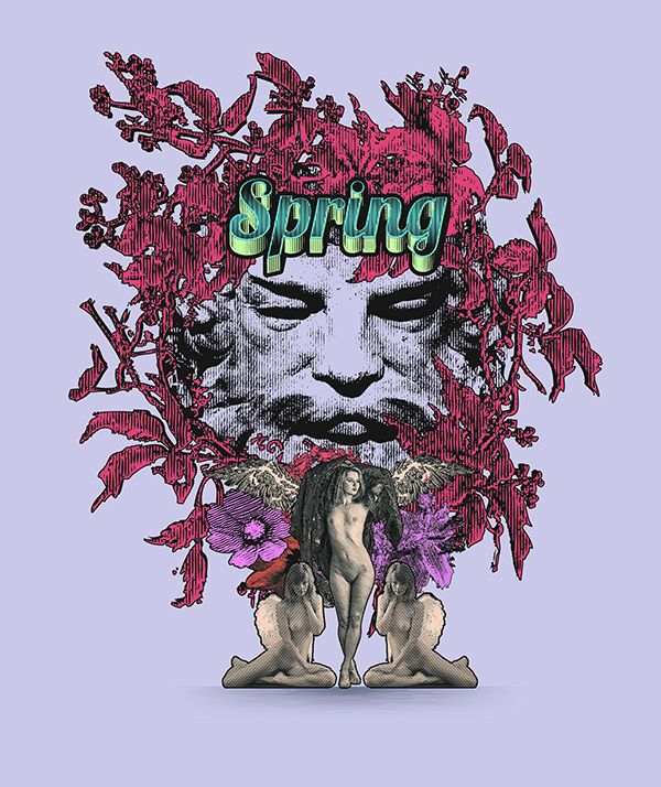 Spring (a personal project) by Yannis Aggelakos, via Behance