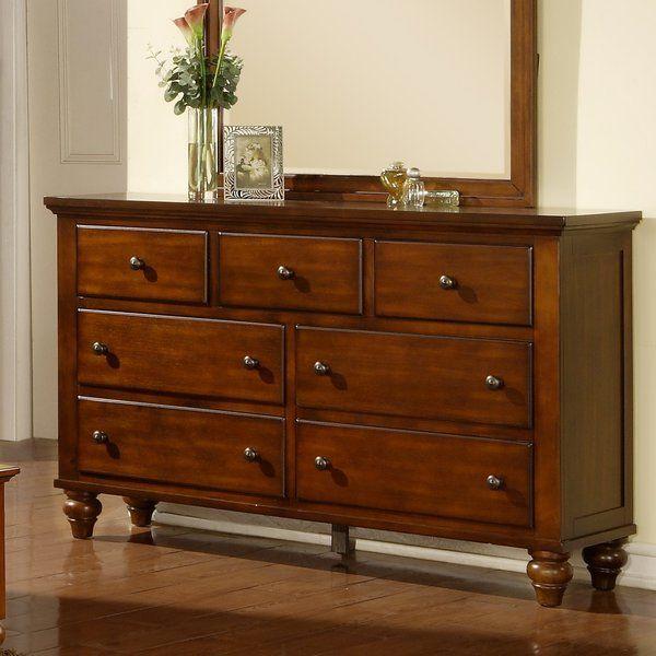 Verrett 7 Drawer Dresser