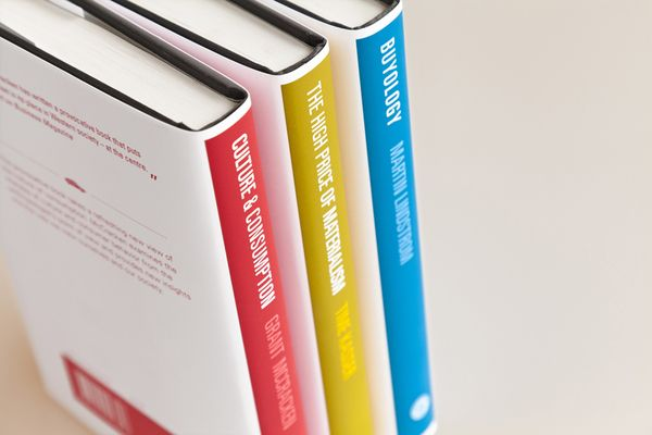 Economics bookcovers redesign by Roger Wang, via Behance